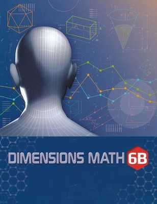 Dimensions Math Textbook 6B   -