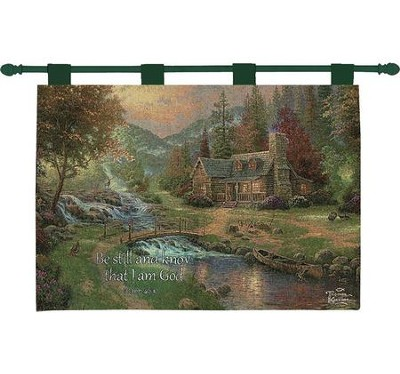Be Still and Know Wallhanging  -     By: Thomas Kinkade