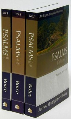 Psalms, 3 volumes  -     By: James Montgomery Boice