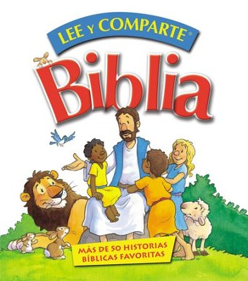 Biblia Lee y comparte: para manos pequenas - eBook  -     By: Gwen Ellis
