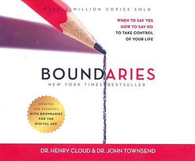 Boundaries, Updated and Expanded Edition: When to Say Yes, How to Say No To Take Control of Your Life - unabridged audiobook edition on CD  -     By: Dr. Henry Cloud, Dr. John Townsend