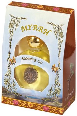 Myrrh Anointing Oil, 1/2 oz.   -