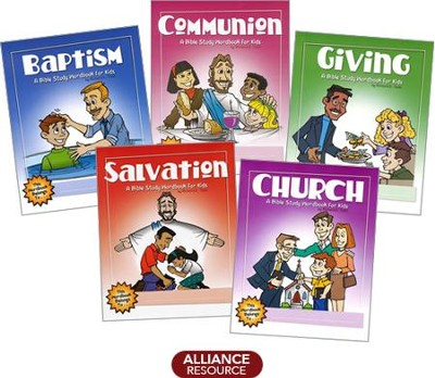 Bible Wordbooks for Kids - 5 Pack  -