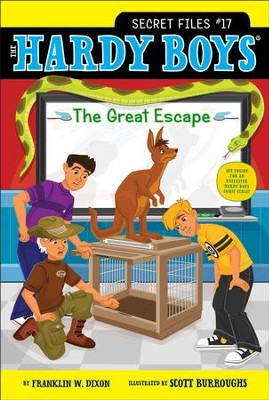 The Great Escape - eBook  -     By: Franklin W. Dixon     Illustrated By: Scott Burroughs