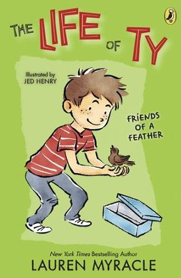 Life of Ty Book 3 - eBook  -     By: Lauren Myracle     Illustrated By: Jed Henry