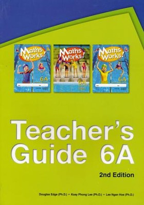 Math Works Teacher's Guide 6A   -