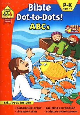 Bible Dot-to-Dot! ABCs Ages 4-6   -