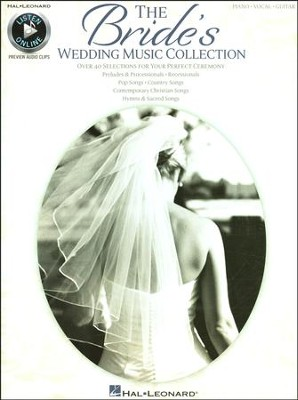 The Bride's Wedding Music Collection (PVG)   -