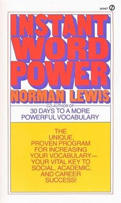 Instant Word Power   -     By: Norman Lewis