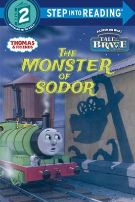The Monster of Sodor (Thomas & Friends) - eBook  -     By: Courtney Carbone     Illustrated By: Richard Courtney