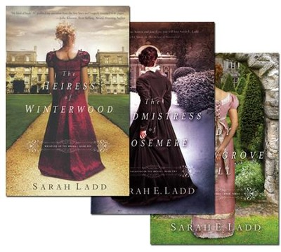 Whispers on the Moors Series, Volumes 1-3  -     By: Sarah Ladd