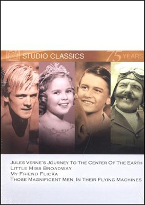 Journey To The Center Of The Earth/Little Miss Broadway/My Friend Flicka/Those Magnificent Men... Multi Feature DVD  -