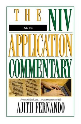 Acts: NIV Application Commentary [NIVAC] -eBook  -     By: Ajith Fernando