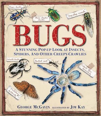 Bugs: A Stunning Pop-up Look at Insects, Spiders, and Other Creepy-Crawlies  -     By: George McGavin     Illustrated By: Jim Kay