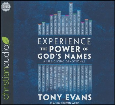Experience the Power of God's Names: A Life-Giving Devotional - unabridged audio book on CD  -     Narrated By: Mirron Willis     By: Tony Evans