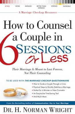 How to Counsel a Couple in 6 Sessions or Less - eBook  -     By: H. Norman Wright