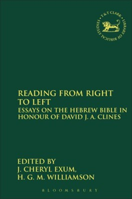 Reading from Right to Left  -     By: Cheryl Exum, H.G.M. Williamson