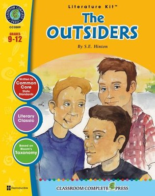 The Outsiders (S.E. Hinton) Literature Kit  -     By: Sarah Joubert