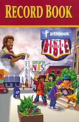 Faithbook VBS: Record Book   -