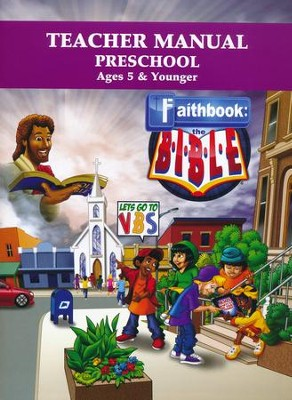 Faithbook VBS: Preschool Teacher Manual   -