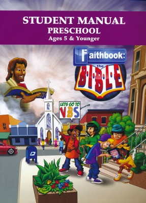 Faithbook VBS: Preschool Student Manual   -
