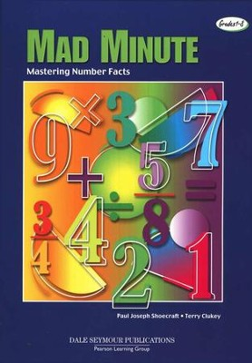 The Mad Minute: A Race to Master the Number Facts   Grades 1-8  -     By: Paul Shoecraft, Terry Clukey