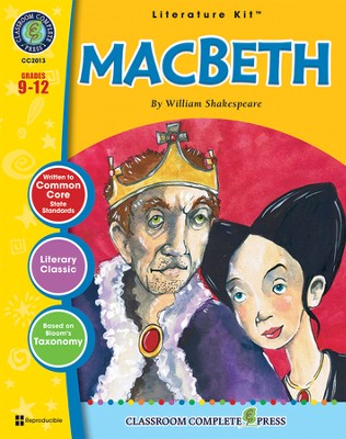 Macbeth (William Shakespeare) Literature Kit  -     By: Dan McCormick
