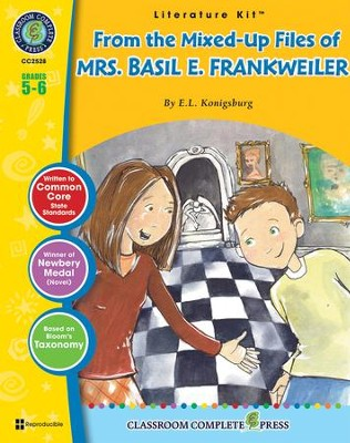From the Mixed-Up Files of Mrs. Basil E. Frankweiler (E.L. Konigsburg) Literature Kit  -