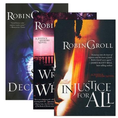 Justice Seekers Series, Volumes 1-3  -     By: Robin Caroll
