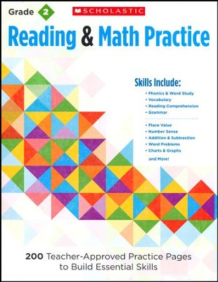 Reading and Math Practice  (Grade 2)             2): 200 Teacher-Approved Practice Pages to Build  -     By: Martin Lee, Marcia Miller