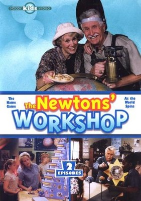 The Newtons' Workshop: The Name Game & As The World Spins, DVD   -