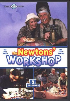 The Newtons' Workshop: The Bug Safari & Cell-a-bration, DVD   -