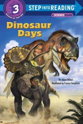 Dinosaur Days - eBook  -     By: Joyce Milton     Illustrated By: Franco Tempesta