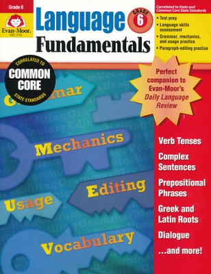 Language Fundamentals Grade 6    -