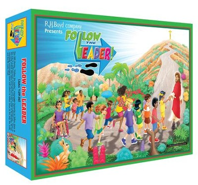 Follow the Leader! Introductory Kit - R.H. Boyd VBS 2018  -