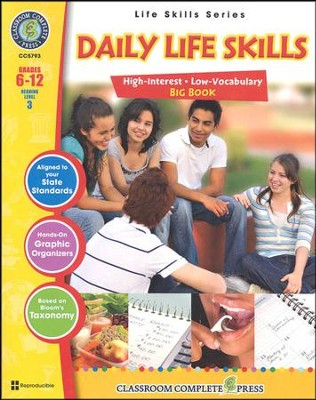 Daily Life Skills Big Book, Grades 6-12   -