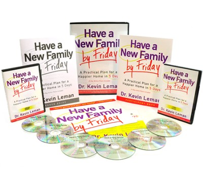 Have a New Family By Friday, DVD Curriculum   -     By: Dr. Kevin Leman