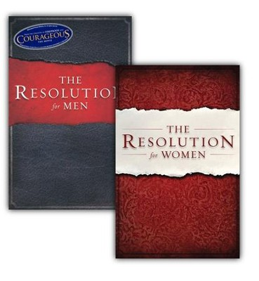 The Resolution for Men & Women 2 book pack   -     By: Stephen Kendrick, Alex Kendrick, Randy Alcorn, Priscilla Shearer