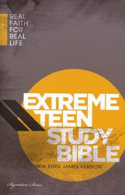 NKJV Extreme Teen Study Bible, Jacketed Hardcover, multicolor  -