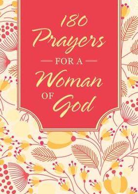 180 Prayers for a Woman of God - eBook  -