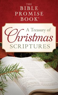 The Bible Promise Book: A Treasury of Christmas Scriptures - eBook  -     By: JoAnne Simmons
