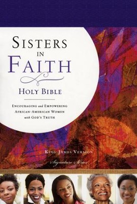 KJV Sisters in Faith Holy Bible, Hardcover  -     Edited By: Michele Clark Jenkins, Stephanie Perry Moore