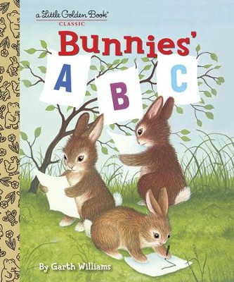 Bunnies' ABC - eBook  -     By: Golden Books     Illustrated By: Garth Williams