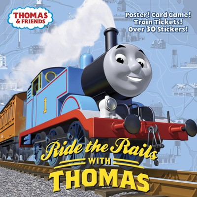 Ride the Rails with Thomas (Thomas & Friends) - eBook  -     By: Rev. W. Awdry     Illustrated By: Tommy Stubbs