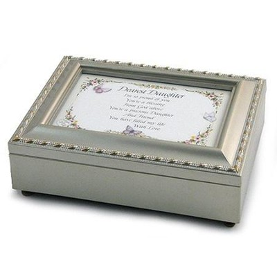 Dearest Daughter, Music Box, Silver   -     By: Sue Skeen