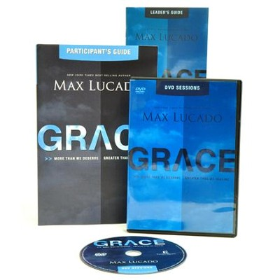 Grace, DVD-Based Study Pack   -     By: Max Lucado