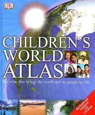 Children's World Atlas  -     By: DK Publishing