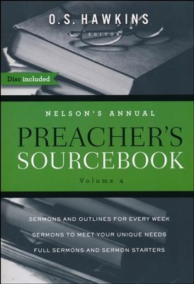 Nelson's Annual Preacher's Sourcebook, Volume 4  -     By: O.S. Hawkins