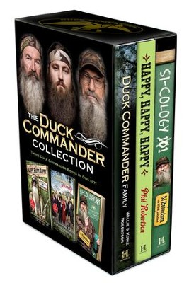 Duck Commander Collection, Includes The Duck Commander Famil  y, Happy, Happy, Happy and Si-Cology 1, Hardcovers  -     By: Willie Robertson