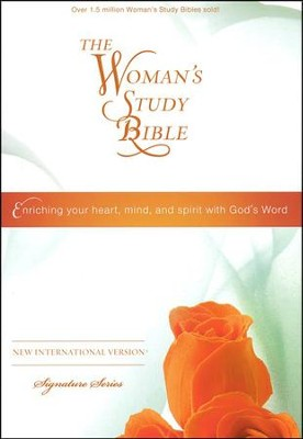 NIV The Woman's Study Bible, Hardcover  -